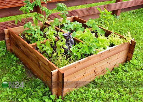 Ящик для выращивания растений 100x100 см 4 сектора TN-125383