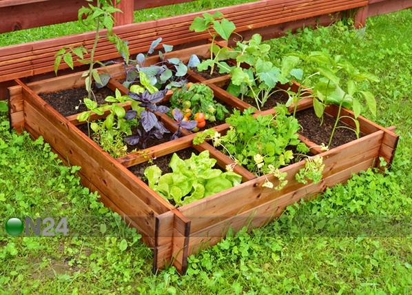 Ящик для выращивания растений 100x100 см, 9 секторов TN-125384