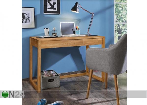 Рабочий стол из массива дуба Hans EC-125609