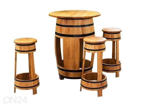 Бочковая мебель из дуба Barrel CE-129885