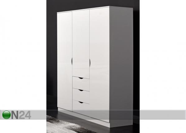 Шкаф платяной Letty white MA-130913