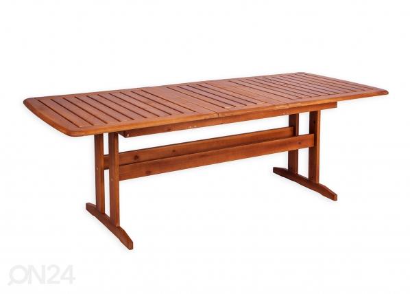 Удлиняющийся садовый стол Bavaria 90x170-220 cm WK-132190