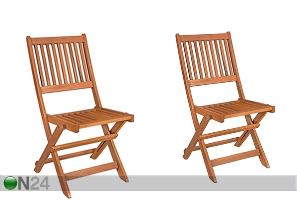 Садовый стул Woody 2 шт EV-134402