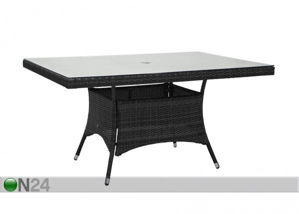 Садовый стол Wicker 150x100 cm EV-137015