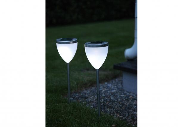 Комплект садовых светильников с солнечной панелью 2 шт AA-38733
