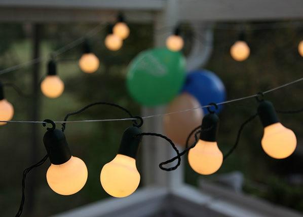 Световая цепочка Party Balls 20LED AA-38914