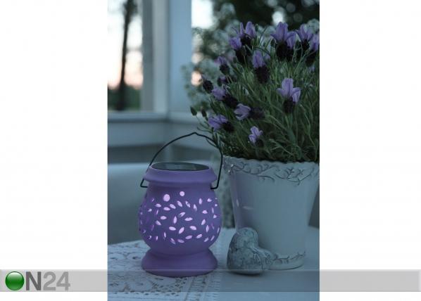 Садовый фонарик с солнечной панелью AA-47101