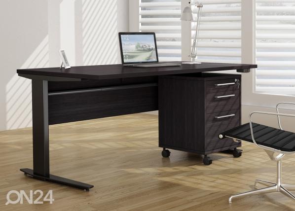 Рабочий стол с регулируемой высотой + тумба Prima CM-64717