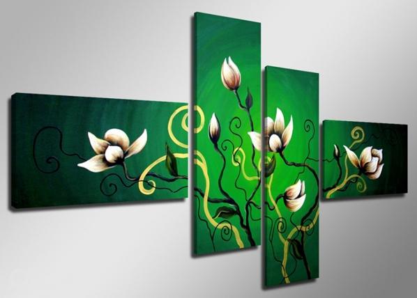 Картина из 4-частей Цветок ED-66709