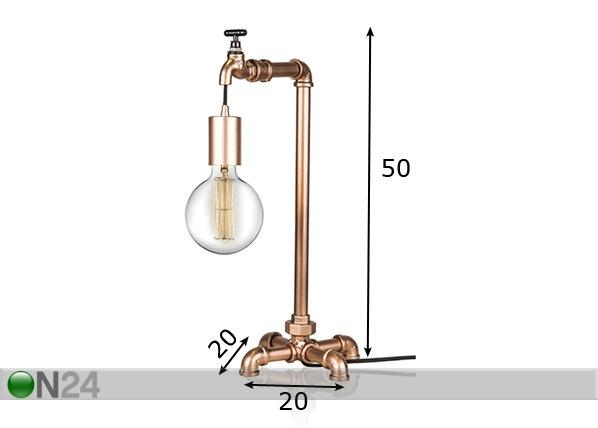 Настольная лампа Plumber AA-73354