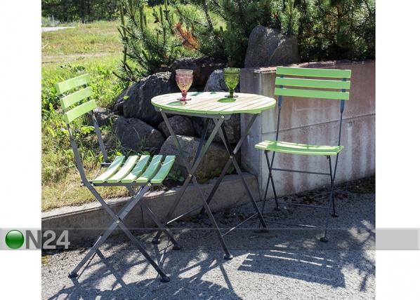 Складной комплект садовой мебели Flip EV-74575