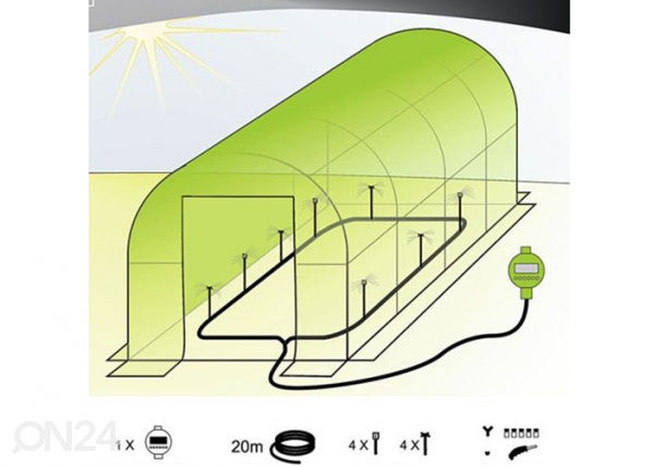 Автоматическая система орошения для теплицы PO-76782