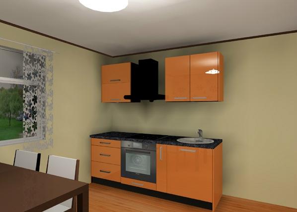 Кухня 203 cm AR-79540