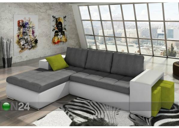 Угловой диван-кровать с ящиком TF-89770