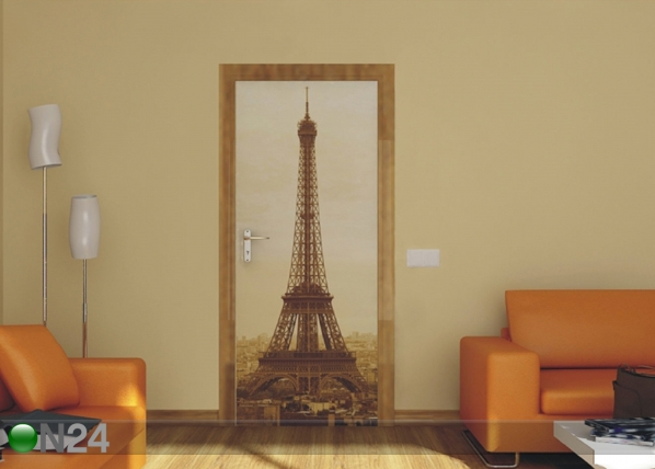 Флизелиновые фотообои Paris Eiffel Tower 90x202 cм ED-91432