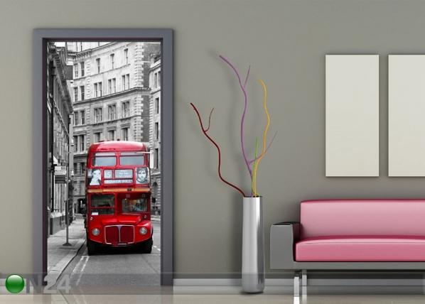Флизелиновые фотообои London bus 90x202 cм ED-91435