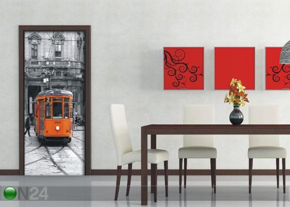 Флизелиновые фотообои The tram 90x202 cм ED-91446