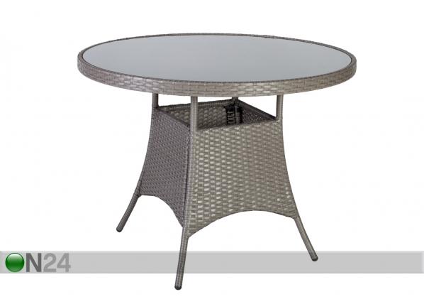 Садовый стол Hampton Ø 100 cm EV-91681