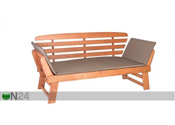Регулируемая садовая скамья Woody EV-91915