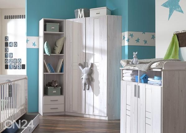 Угловой шкаф платяной Bornholm SM-92414