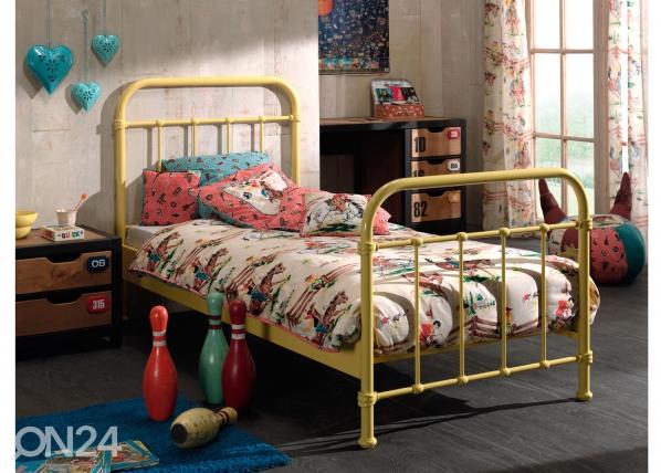 Металлическая кровать New York 90x200 cm AQ-93175