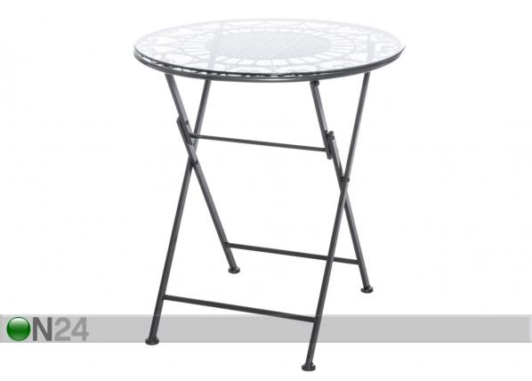 Складной садовый стол Romantic Ø 62,5 cm AQ-96241