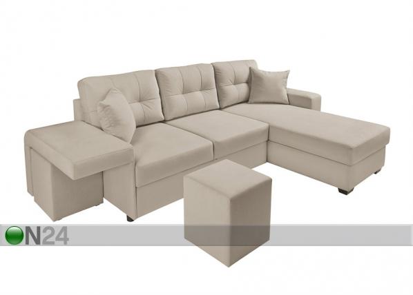 Угловой диван-кровать с ящиком TF-97396