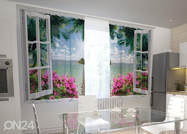 Полузатемняющая штора Open window 200x120 см ED-98442
