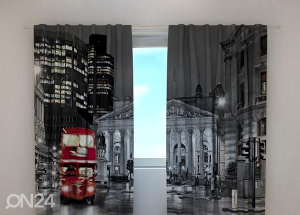 Затемняющая штора London with red bus 240x220 см ED-99400