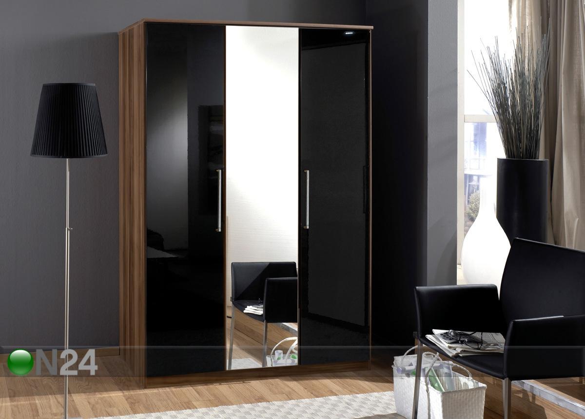 Шкаф горизонт 5 с четырьмя зеркалами за 16500 руб., фото.