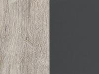 Песочный дуб/антрацит