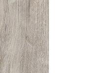 Песочный дуб/белый