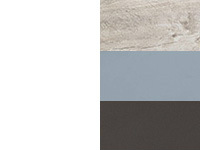 Белый/песочный дуб/синий/лавина