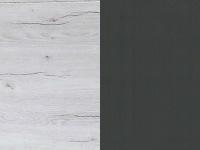 Белый дуб/графитовый
